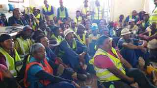 Aids Day Presentation May 2015 Dysselsdorp Construction site