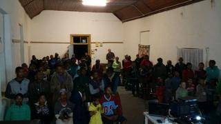 Oude Muragie 23/3/15 About 85 People attend 2nd evening